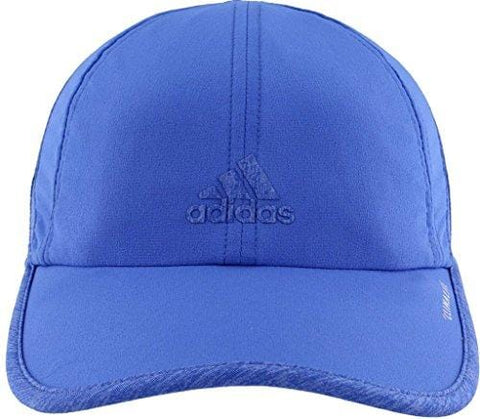 adidas Women's Superlite Relaxed Adjustable Performance Cap, Hi-Res Blue/Hi-Res Blue/Chalk Purple Heather, One Size