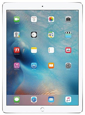 Apple iPad Pro (128GB, Wi-Fi + Cellular, Silver) - 12.9in Display (Renewed)
