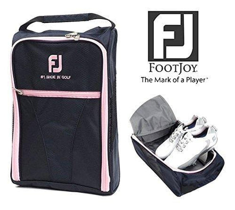 FootJoy Genuine Golf Shoes Bag Zipped Sports Bag Shoe Case - Pink Color [product _type] FootJoy - Ultra Pickleball - The Pickleball Paddle MegaStore