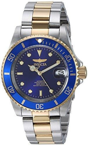 Invicta Men's 8928OB Pro Diver Gold Stainless Steel Two-Tone Automatic Watch [product _type] Invicta - Ultra Pickleball - The Pickleball Paddle MegaStore