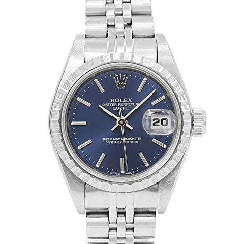 Rolex Date Automatic-self-Wind Female Watch 69240 (Certified Pre-Owned)