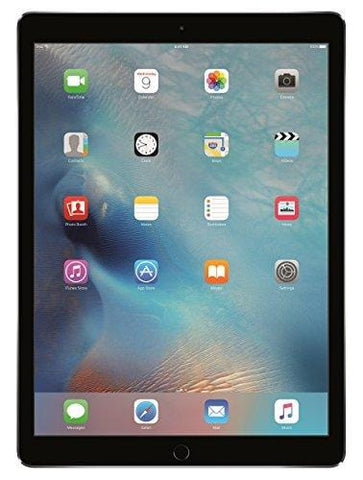 Apple iPad Pro (128GB, Wi-Fi, Space Gray) 12.9in Tablet (Renewed)
