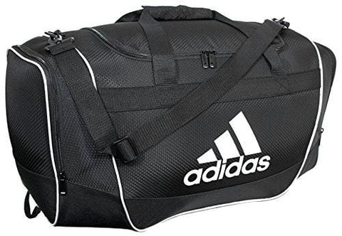 adidas Defender II Duffel Bag, Black, Small
