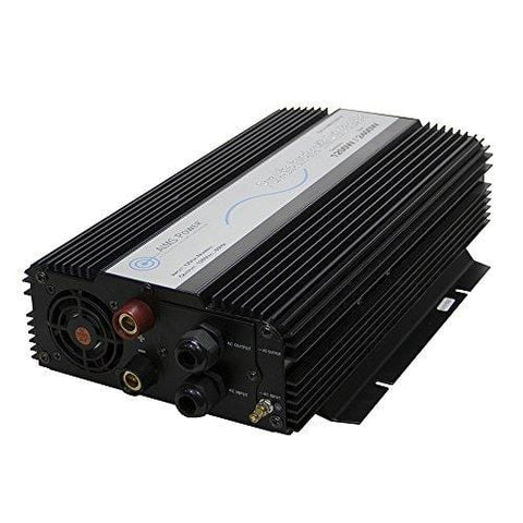 AIMS Power PWRIX120012S 1200 Watt Pure Sine Inverter, Built In Transfer Switch, 10 Amp Transfer, Fans Constant, Pure Sine Output