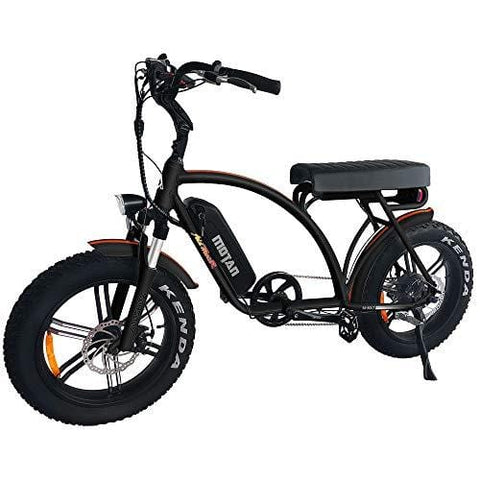Addmotor MOTAN 750 Watt Electric Bike Beach Cruiser Bicycle Mini Motorbike M-60 L7(R7) for Adults (Black)