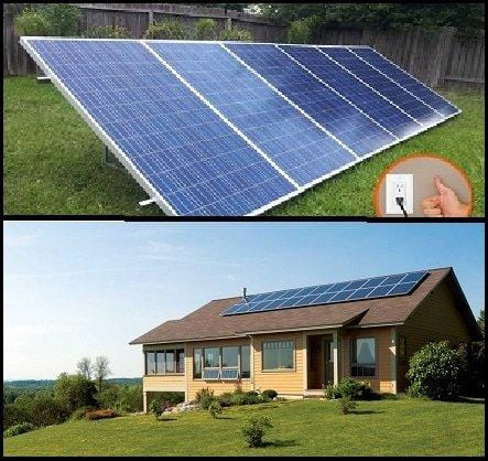 1.5KW PluggedSolar with 1500Watt Crystalline Solar Panels and Micro Grid Tie Inverter, Plug into Wall, 120V or 240V AC Outlet, Utility Approved Micro Grid Tie Inverter (UL-1741). Breakthough in Solar. 30 Percent Federal Tax Credit