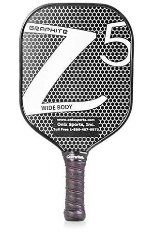 Onix Graphite Z5 Pickleball Paddle Grip + Free Overgrip (Babolat Pro Tour) (White)
