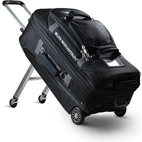 Sun Mountain CLUBGLIDER Travel Edition Suitcase/Luggage - Black - New 2018