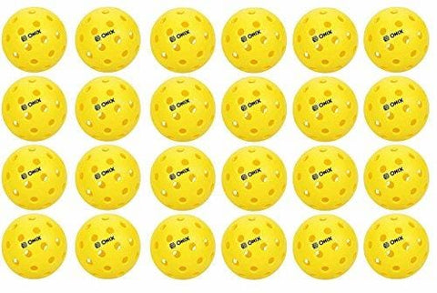 Onix Pure 2 Outdoor Pickleball Balls 24 PACK YELLOW