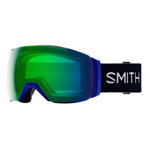 Smith Optics I/O Mag XL Adult Snowmobile Goggles - Klein Blue/Chromapop Everyday Green Mirror/One Size
