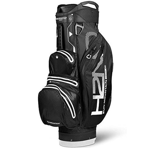 Sun Mountain 2018 H2NO Lite Golf Cart Bag - Black-White