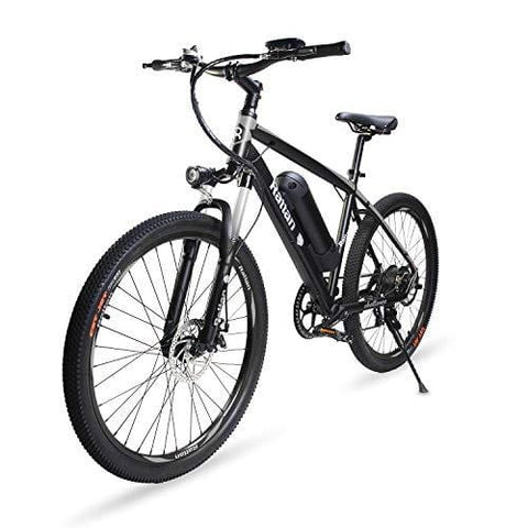 26 inch Aluminum Electric Mountain Bike Shimano 7 Speed E-Bike 36V 10.4Ah Lithium Battery 350W Assisted E-Bike