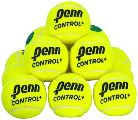 Penn Control+ Green Tennis Balls, 12 Ball Bag