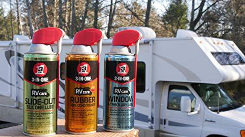 3-IN-ONE RV Care Rubber Seal Conditioner with UV Shield