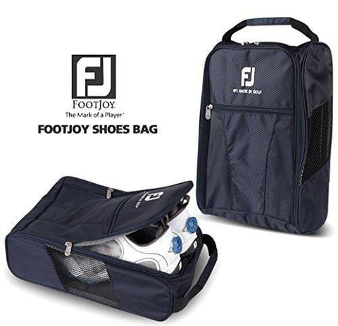 FootJoy Genuine Golf Shoes Bag Zipped Sports Bag Shoe Case - Navy Color [product _type] FootJoy - Ultra Pickleball - The Pickleball Paddle MegaStore