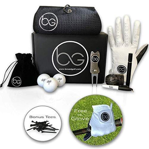 Boxed Golf Premium Golf Gifts for Men & Women Best Personal Gift Box | Complete Golfing Set with Accessories - Unique Gift Baskets Idea for Golfers Birthdays - Great Fathers Day Basket for Dad [product _type] Boxed Golf - Ultra Pickleball - The Pickleball Paddle MegaStore