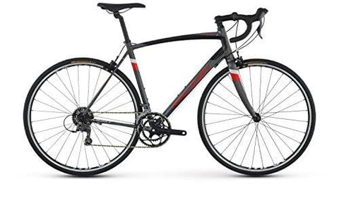RALEIGH Bikes Merit 1 Endurance Road Bike, Silver, 60cm/XX-Large