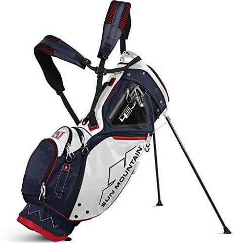 Sun Mountain 4.5 LS 14-Way Stand Bag 2017 Navy/White/Red
