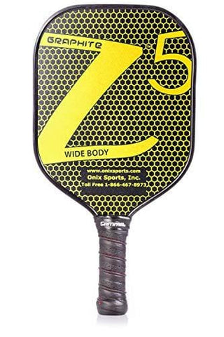 Onix Graphite Z5 Pickleball Paddle Grip + Free Overgrip (Babolat Pro Tour) (Yellow)