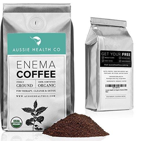 419° Roasted Organic Enema Coffee (1LB) for Unmatchable Enema & Gerson Cleanses. 100% USDA Certified Pre-Ground Organic Beans. Made in Seattle.