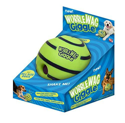 Allstar Innovations Wobble Wag Giggle Ball, Dog Toy, As Seen on TV