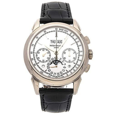 Patek Philippe Grand Complications Mechanical (Hand-Winding) Silver Dial Mens Watch 5270G-013 (Certified Pre-Owned)