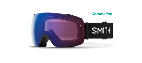 Smith Optics Io Mag Adult Snow Goggles - Black/Chromapop Photochromic Rose Flash