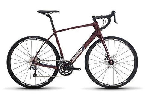 Diamondback Bicycles Century 4 Carbon Endurance Road Bike, 56cm/Large, Red