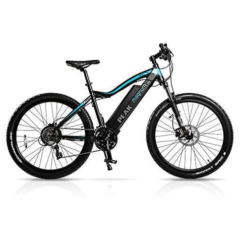 "Magnum Peak Premium Electric Mountain Bike - 500-700W Motor - Large Capacity 48V13A - Lithium Battery -29"" Wheels - Ebikes for Adults - Black"