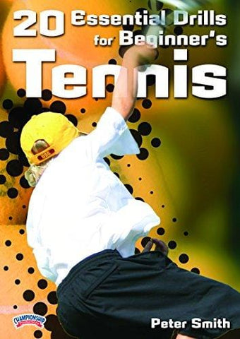 Championship Productions Essential Drills for Beginner's Tennis DVD