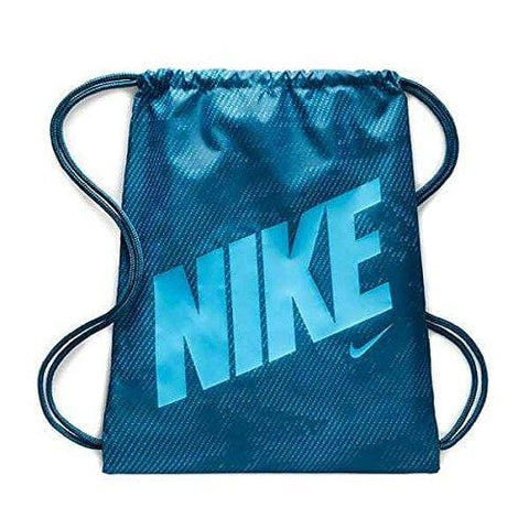 Nike Graphic Gym Sack Big Kids,Blue Force/Equator Blue,One Size