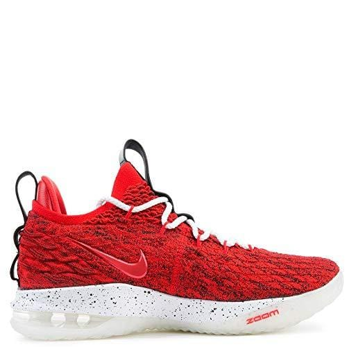 new product fbec5 2086e Nike Lebron XV Low University Red/White-Black 8.5 M US