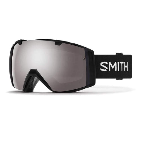 Smith Optics I/O Adult Snow Goggles - Black/Chromapop Sun Platinum Mirror/One Size