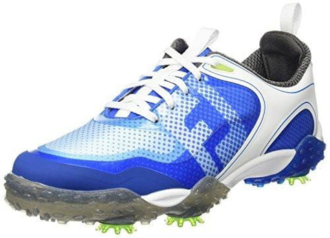 FootJoy Men's Freestyle Closeout Golf Shoes 57340 White/Electric Blue [product _type] FootJoy - Ultra Pickleball - The Pickleball Paddle MegaStore