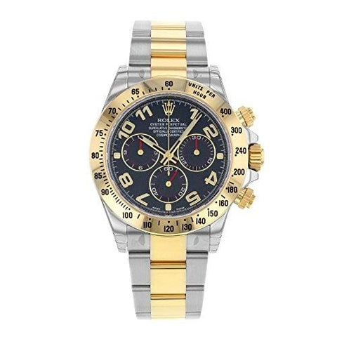 Rolex Daytona 116523 BLA 18K Yellow Gold & Steel Automatic Men's Watch