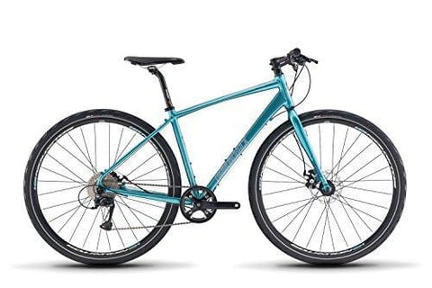 Diamondback Bicycles Haanjenn 1 Gravel Adventure Womens Road Bike, Blue, 47cm, Satin Blue, 47cm/X-Small