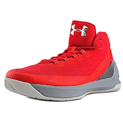 Under Armour Curry 3 Basketball Shoes - 8.5 - Red