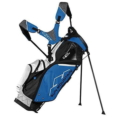 Sun Mountain 4.5 LS Zero-G Stand Bag 2018 - Black-Cobalt-White