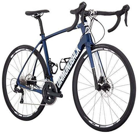 Diamondback Bicycles Century 4 Carbon Road Bike, 58cm/X-Large, Dark Blue