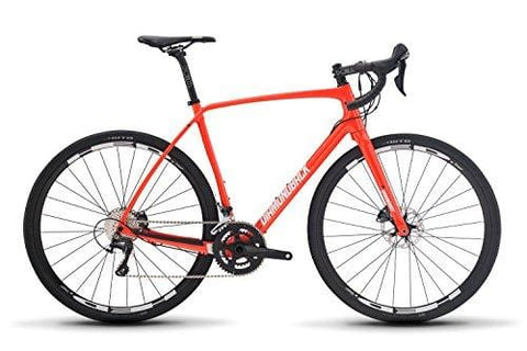 Diamondback Bicycles Haanjo 7C Carbon Gravel Adventure Road Bike, Orange, 59cm/X-Large