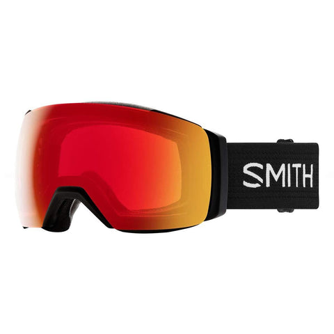 Smith Optics I/O Mag XL Adult Snowmobile Goggles - Black/Chromapop Photochromic Red Mirror/One Size