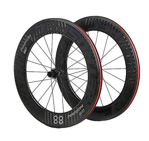 LIDAUTO 700C Road Bicycle WheelSet Cruise Cycling 4 Bearing Disc Brake Barrel Shaft 88mm Rim Carbon Fiber Wheel Hub,Gray