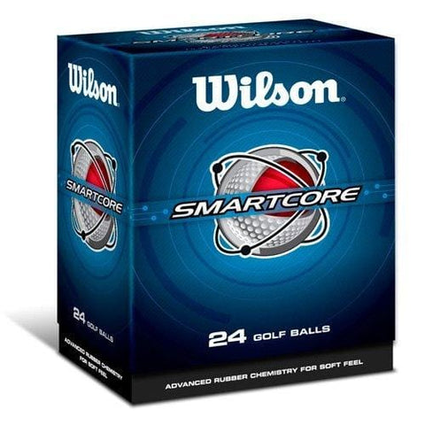 Wilson Smart-Core Straight Distance Double Dozen Golf Balls 24-Ball Pack