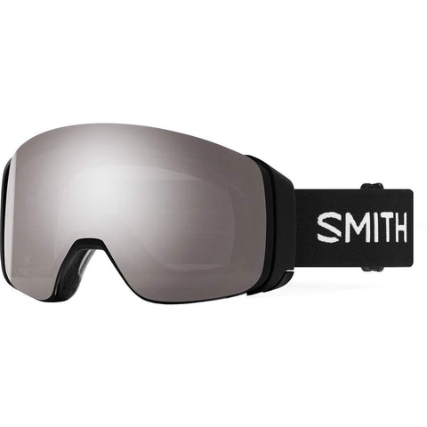 Smith Optics 4D Mag Adult Snowmobile Goggles - Black/Chromapop Sun Platinum Mirror/One Size