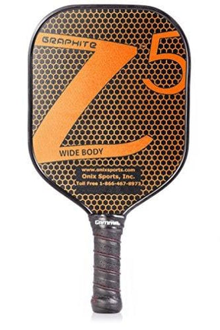 ONIX Graphite Z5 Pickleball Paddle (Graphite Carbon Fiber Face with Rough Texture Surface, Cushion Comfort Grip and Nomex Honeycomb Core for Touch, Control, and Power) [product _type] Escalade Sports - Ultra Pickleball - The Pickleball Paddle MegaStore