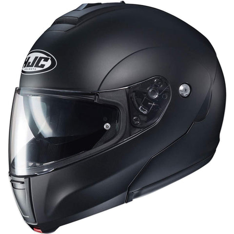 HJC CL-Max 3 Men's Snowmobile Helmet - Semi-Flat Black/Large
