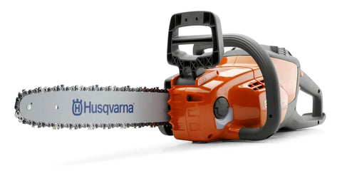 Husqvarna 120i Cordless Electric Chainsaws, Orange/Gray