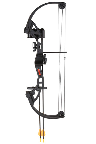 Bear Archery Brave black w/biscuit RH BAAYS300BR