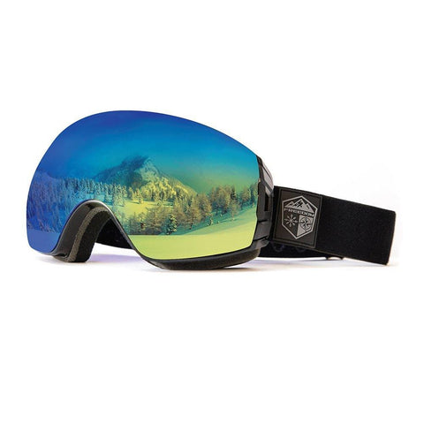 Freedom Optical Ski & Snowboard Goggle package with 2 Lens and Bonus Storage Case