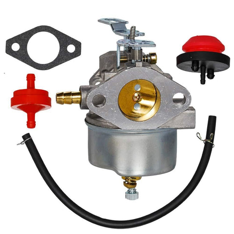 HIFROM Carburetor Carb with Mounting Gasket Fuel Line Fuel Filter Replace for John Deere Snow Blower Thrower TRS22 TRS24 TRS26 TRS27 TRS32 Snow Blower Thrower
